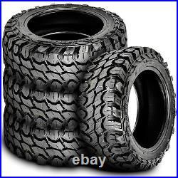 4 Tires Gladiator X-Comp M/T LT 35X12.50R22 Load F 12 Ply MT Mud