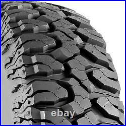 4 Tires Milestar Patagonia M/T LT 37X12.50R17 Load D 8 Ply MT Mud