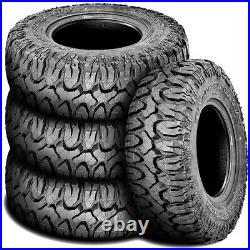 4 Tires Milestar Patagonia M/T LT 37X13.50R22 Load F 12 Ply MT Mud
