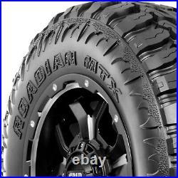 4 Tires Nexen Roadian MTX LT37X12.50R17 Load F 12 Ply M/T Mud