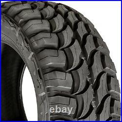 4 Tires Red Dirt Road RD-6 M/T LT 33X12.50R18 Load E 10 Ply MT Mud