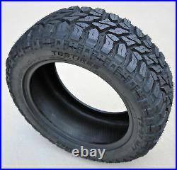 4 Tires TBB TS-67 M/T LT 37X13.50R22 Load F 12 Ply MT Mud