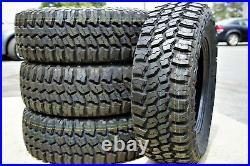 4 Tires Thunderer Trac Grip M/T LT 30X9.50R15 Load C 6 Ply MT Mud