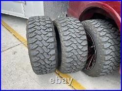 4 Used Centennial Dirt Commander M/T LT 33X12.50R22 Load F 12 Ply MT Mud Tires