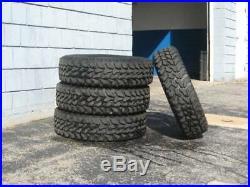 4 Used Firestone Destination M/T2 LT 235/85R16 Load E 10 Ply MT Mud Tires
