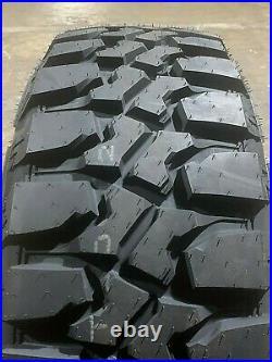 4 x LT285/65R20 New Evoluxx Rotator M/T Mud Tires 10 Ply Load E 285 65 20