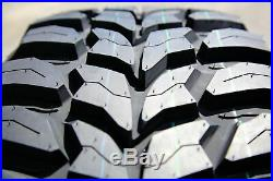 5 New Crosswind M/T LT 33X12.50R15 Load C 6 Ply MT Mud Tires