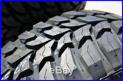 6 New Crosswind M/T LT 235/80R17 Load E 10 Ply MT Mud Tires