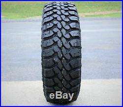 6 New Forceum M/T 08 Plus LT 265/70R17 Load E 10 Ply MT Mud Tires