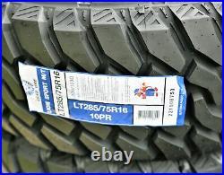 Leao Lion Sport MT LT 285/75R16 126/123Q Load E 10 Ply M/T Mud Tire