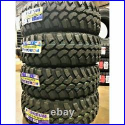 NEW Set of 4 Forceum M/T 08 235/75R15 LT235/75R15 Load C 6 Ply MT Mud Tire